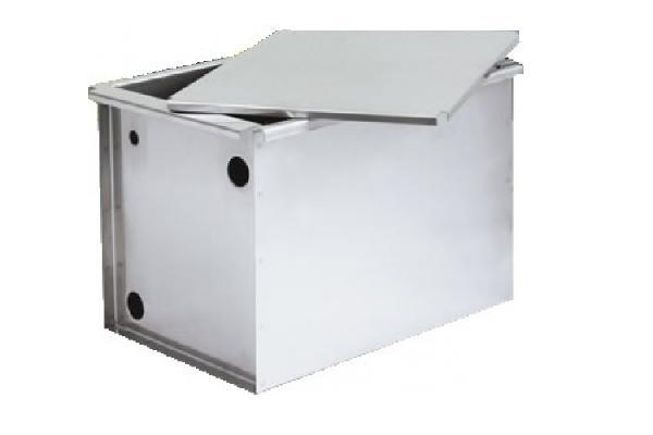 Vaso di espansione aperto acciaio inox 30 lt completo di for Vaso espansione aperto